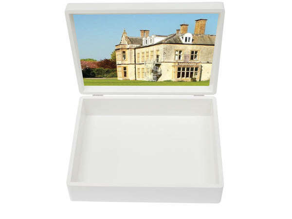 Park School Memory Wood Box - A4 box - Personalised