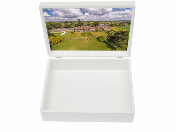 Pinewood School Memory Wood Box - A4 box - Personalised