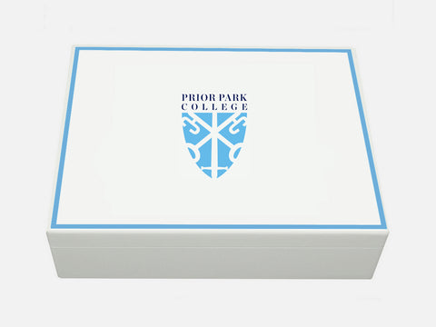 Prior Park College School Memory Wood Box - A4 box - Personalised