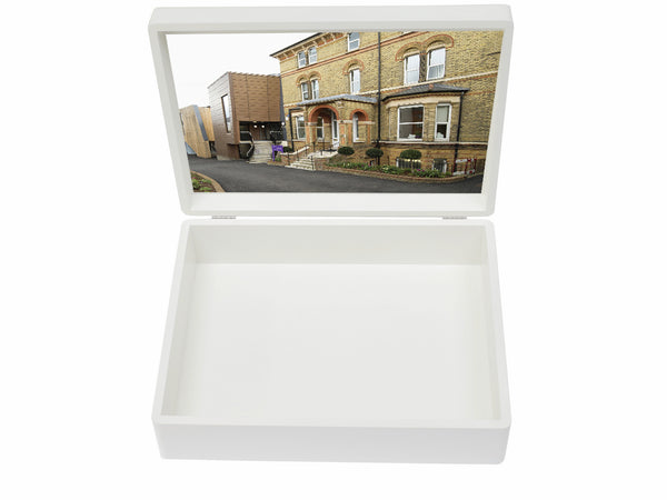 Putney High School Memory Wood Box - A4 box - Personalised