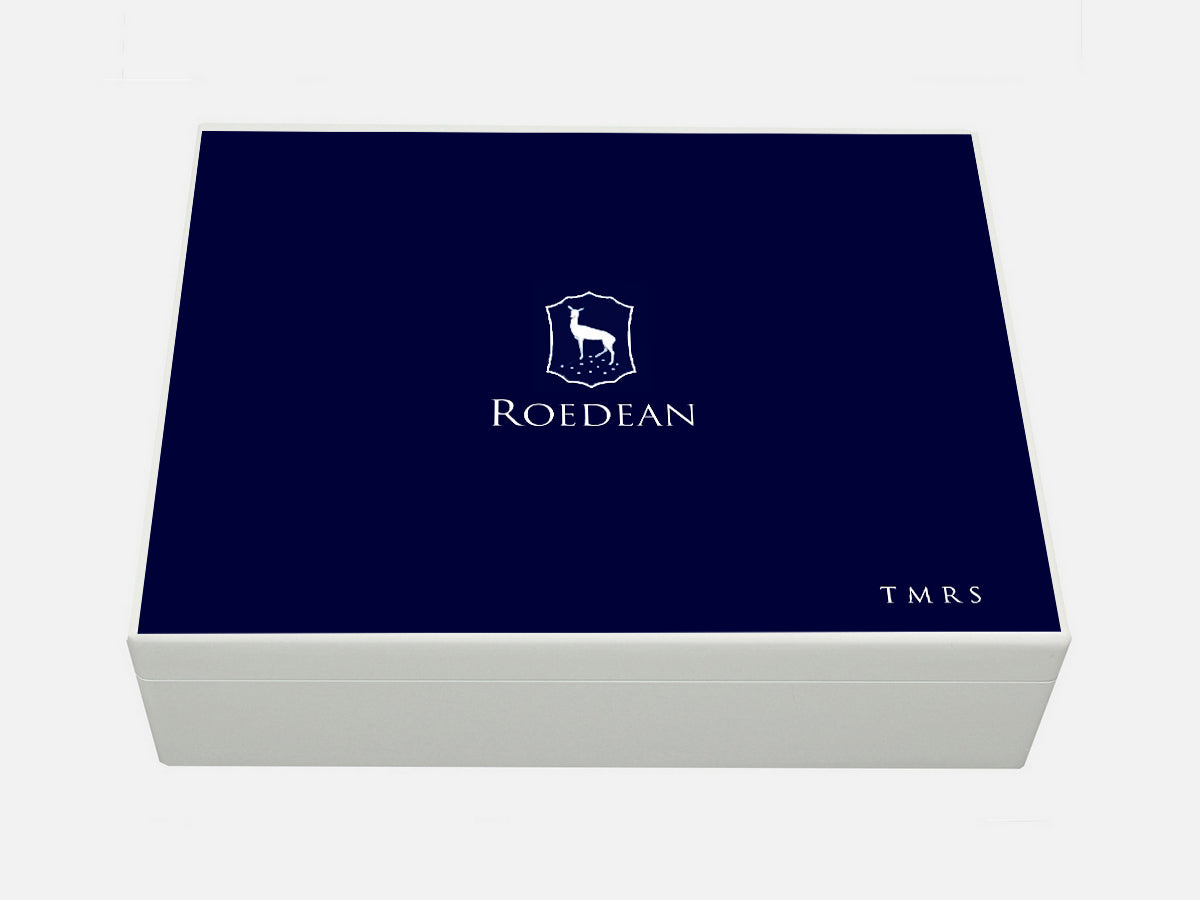 Roedean School Memory Wood Box - A4 box - Personalised