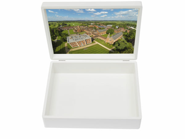 Radley College School Memory Wood Box - A4 box - Personalised