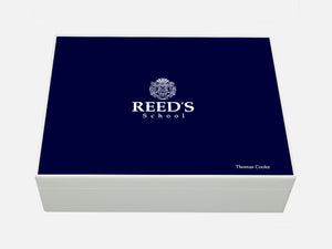 Reed's School Memory Wood Box - A4 box - Personalised