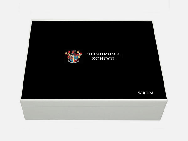 Tonbridge School Memory Wood Box - A4 box - Personalised