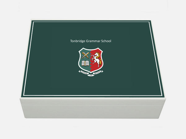 Tonbridge Grammar School Memory Wood Box - A4 box - Personalised