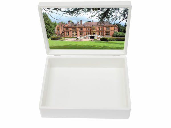 Woldingham School Memory Wood Box - A4 box - Personalised