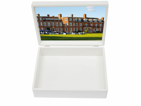 Walhampton School Memory Wood Box - A4 box - Personalised