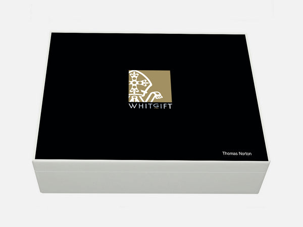 Whitgift School Memory Wood Box - A4 box - Personalised
