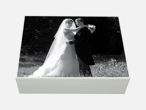 Design your personalised photo box - A4 box