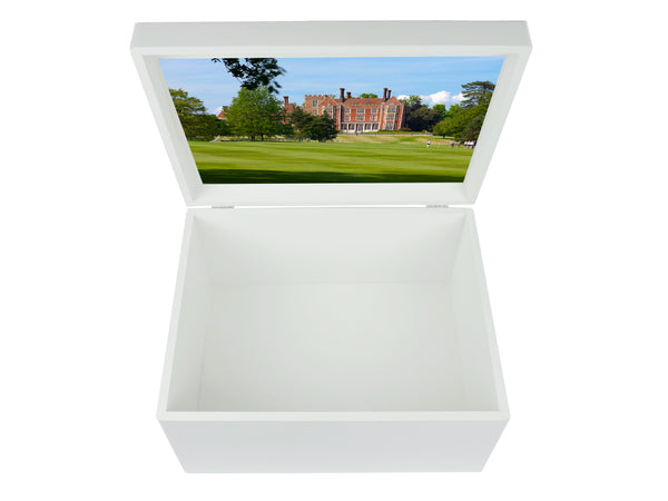 Benenden School Memory Wood Box - A4 Chest - Personalised