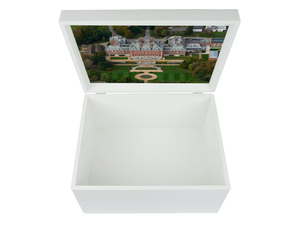 Bryanston School Memory Wood Box - A4 Chest - Personalised