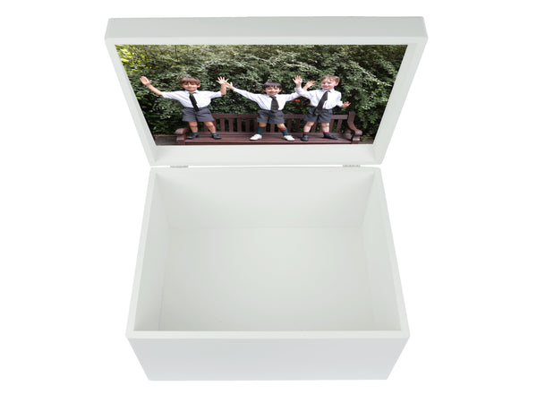 Eaton House School Memory Wood box - A4 Chest - Personalised