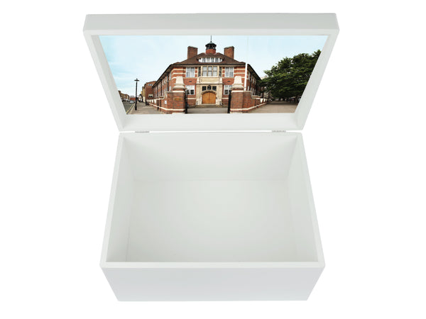 Francis Holland Regents Park School Memory Wood Box - A4 Chest - Personalised
