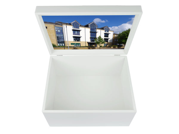 Surbiton High School  School Memory Wood Box - A4 Chest - Personalised