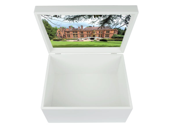 Woldingham School Memory Wood Box - A4 Chest - Personalised