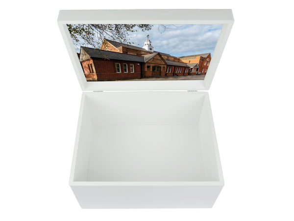 Guildford High School Memory Wood Box - A4 Chest - Personalised