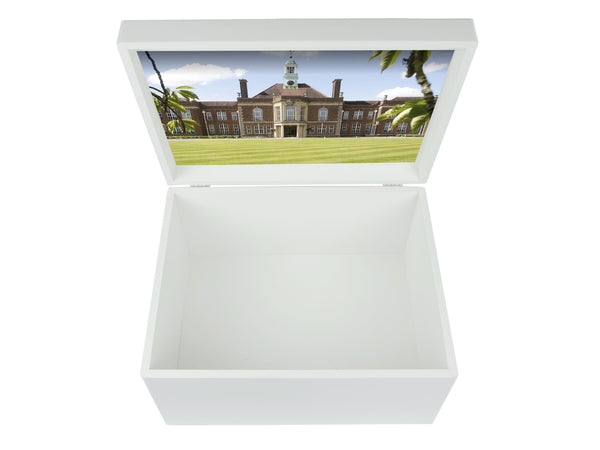 Headington School Memory Wood Box - A4 Chest - Personalised
