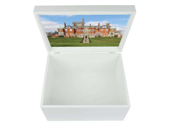 Pangbourne College School Memory Wood Box - A4 Chest - Personalised