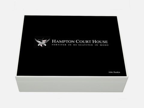 Hampton Court House School Memory Wood Box - A4 box - Personalised