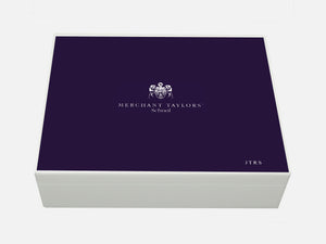 Merchant Taylors' School Memory Wood Box - A4 box - Personalised