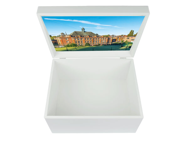 University College School London School Memory Wood Box - A4 Chest - Personalised