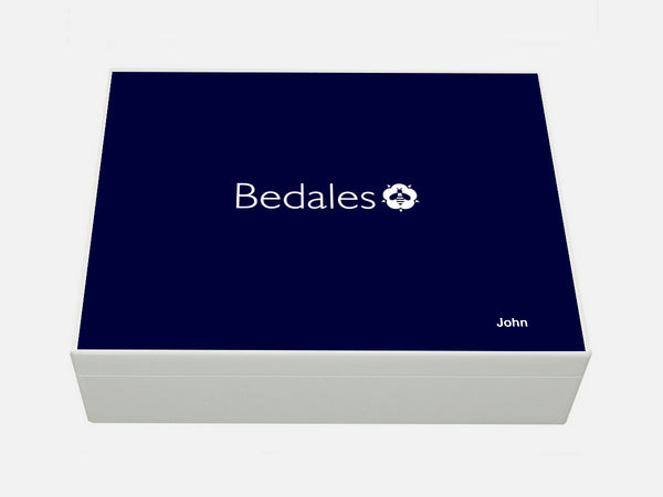 Bedales School Memory Wood Box - A4 Box - Personalised
