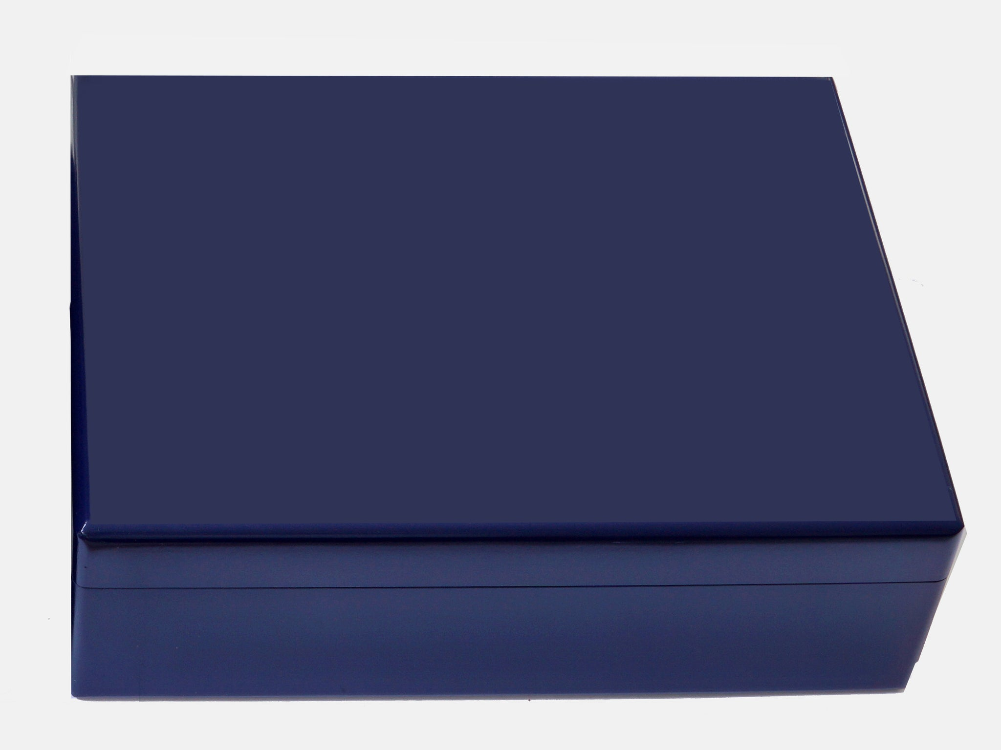 Luxury Blue A4 Document Wood Box