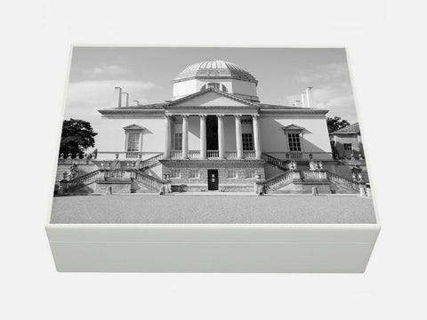 Luxury box file with Chiswick House image