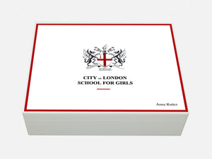 City of London School for Girls School Memory Wood Box - A4 Box - Personalised