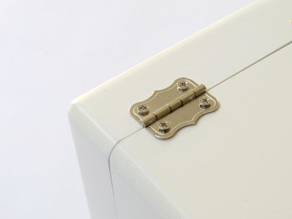 Hinges for guitar file box