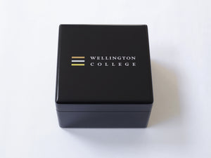 Luxury Presentation Gift Black Small Wood  Box