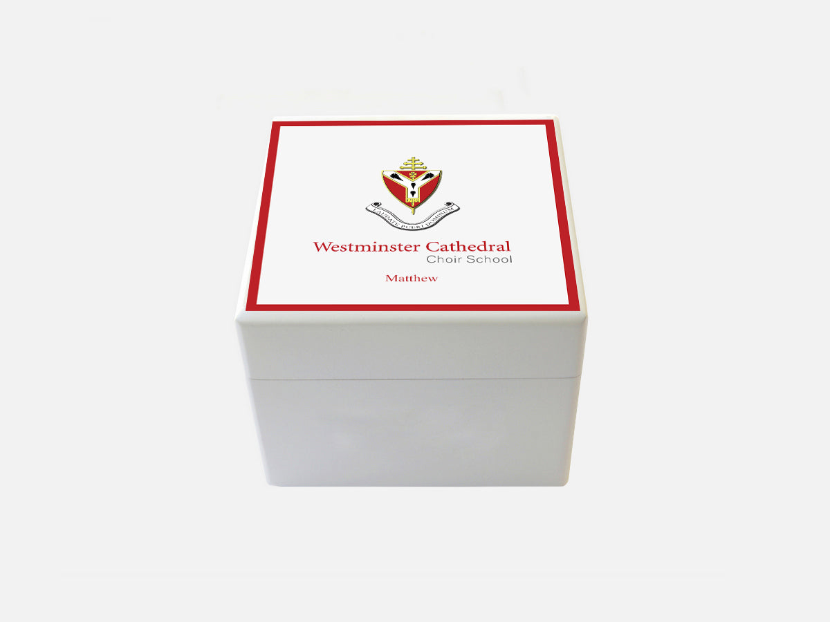 Westminster Cathedral Choir School Memory Wood Box