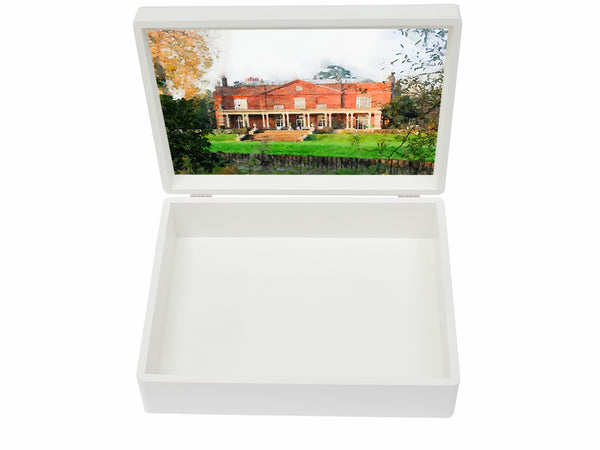 Parkside School Memory Wood Box - A4 box - Personalised