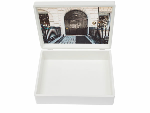 Queen's College  Preparatory School Memory Wood Box - A4 Box  - Personalised