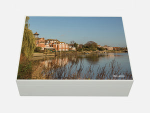 Radnor House School Memory Wood Box - A4 box - Personalised