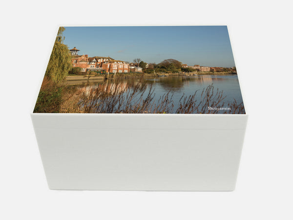 Radnor House School Memory Wood Box - A4 Chest - Personalised