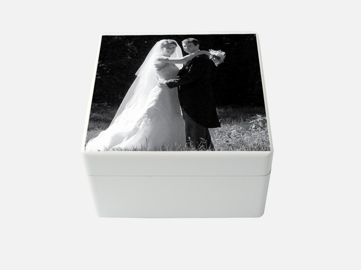 Create a Wedding Memory Box | Photo Box | White Medium Box