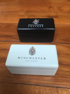 25 x White Luxury Wooden Cufflinks Gift Box  - 100 x 50 x 50 cm