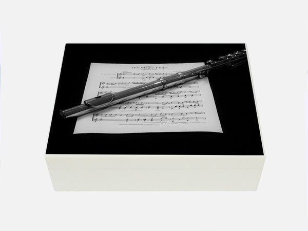 Luxury wooden file box with flute image