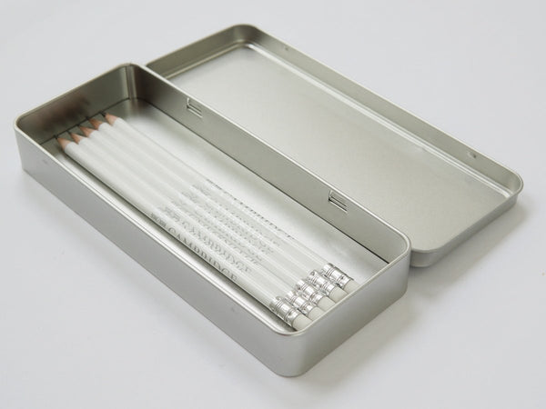 30 x Personalised School Silver Metal Pencil Case with Crest or Logo (£5.20 per case + VAT)