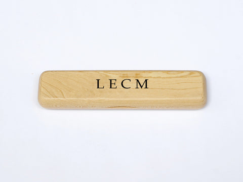 Luxury Personalised Maple Pen Case with your Initials