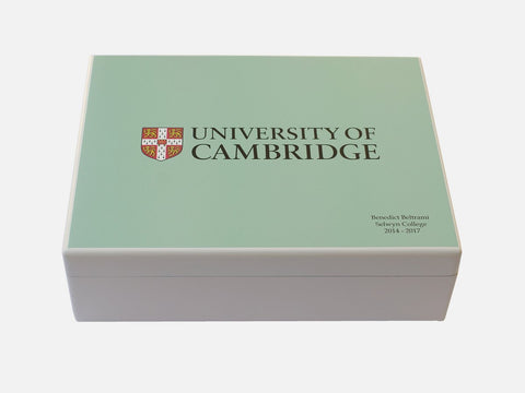 Personalised University of Cambridge Memory Box