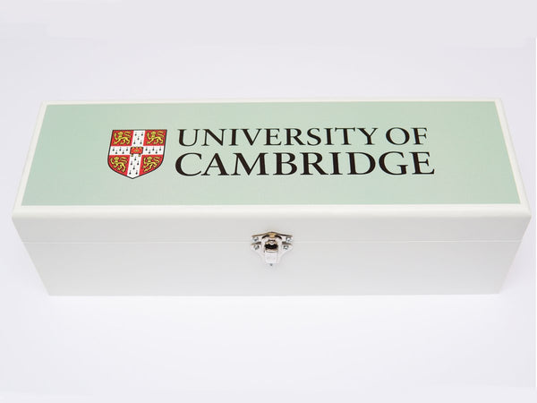 Official University of Cambridge blue wine box