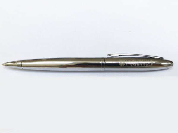Official University of Cambridge silver ball pen
