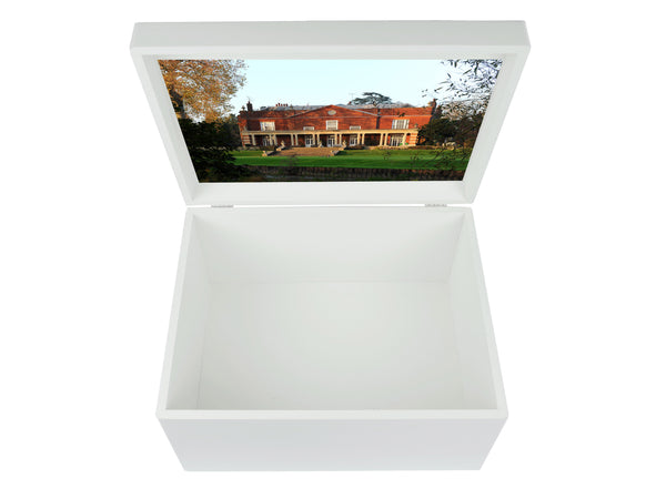 Parkside School Memory Wood Box - A4 Chest - Personalised