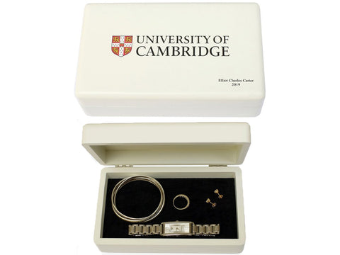 Personalised University of Cambridge Jewellery Box
