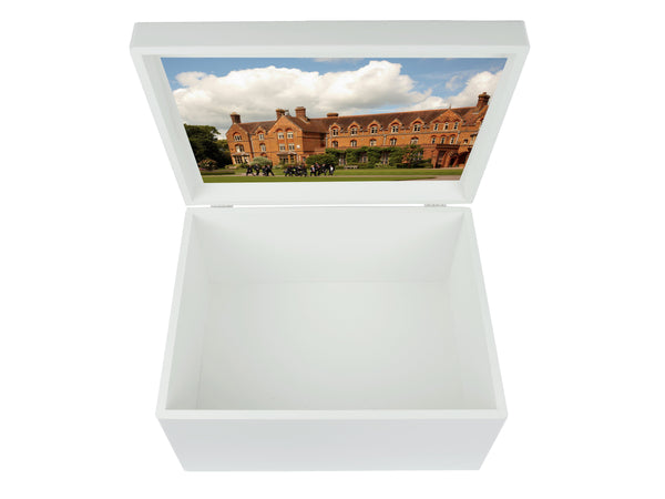 St Edward's Oxford School Memory Wood Box - A4 Chest - Personalised