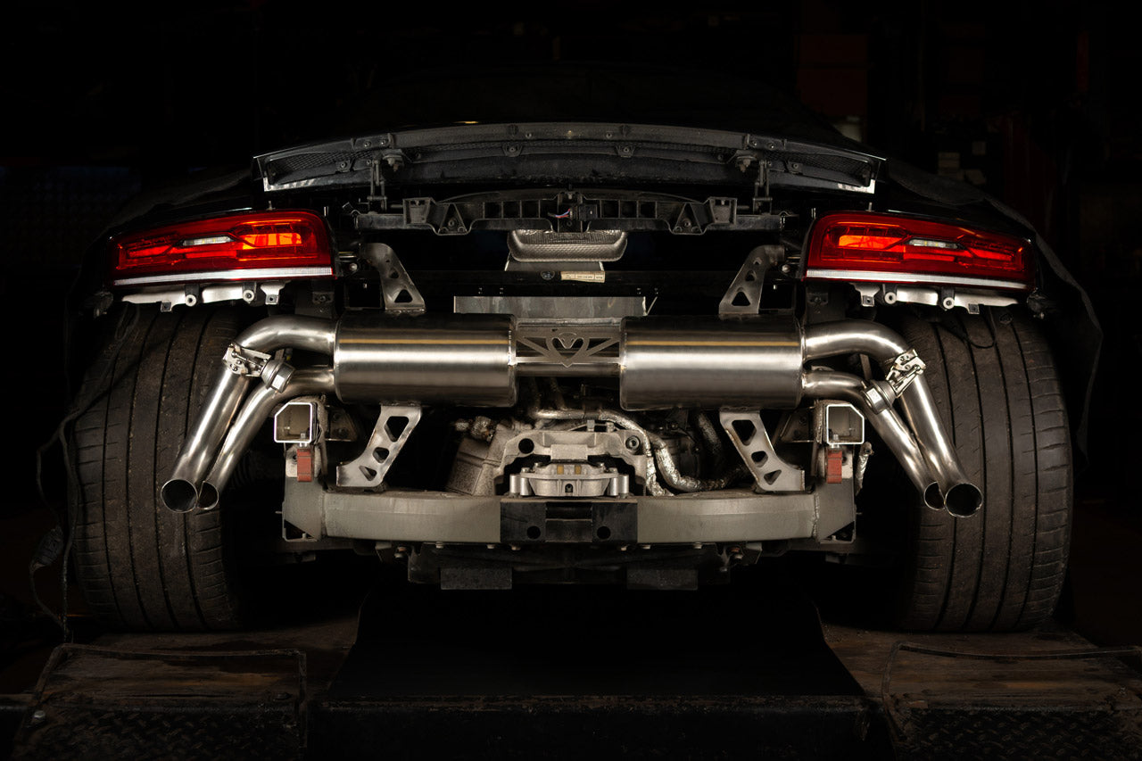 Audi R8 5.2 V10 Cat Back Cobra Sport Exhaust