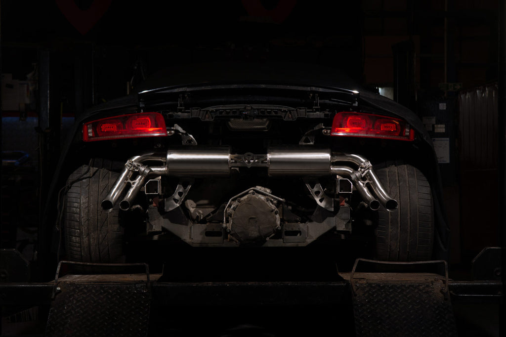 Audi R8 4.2 V8 Cat Back Stainless Steel Exhaust