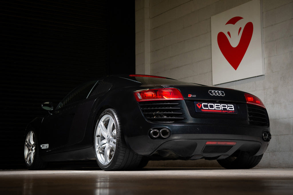 Audi R8 4.2 V8 Gen1 Cat Back Performance Exhausts by Cobra Sport